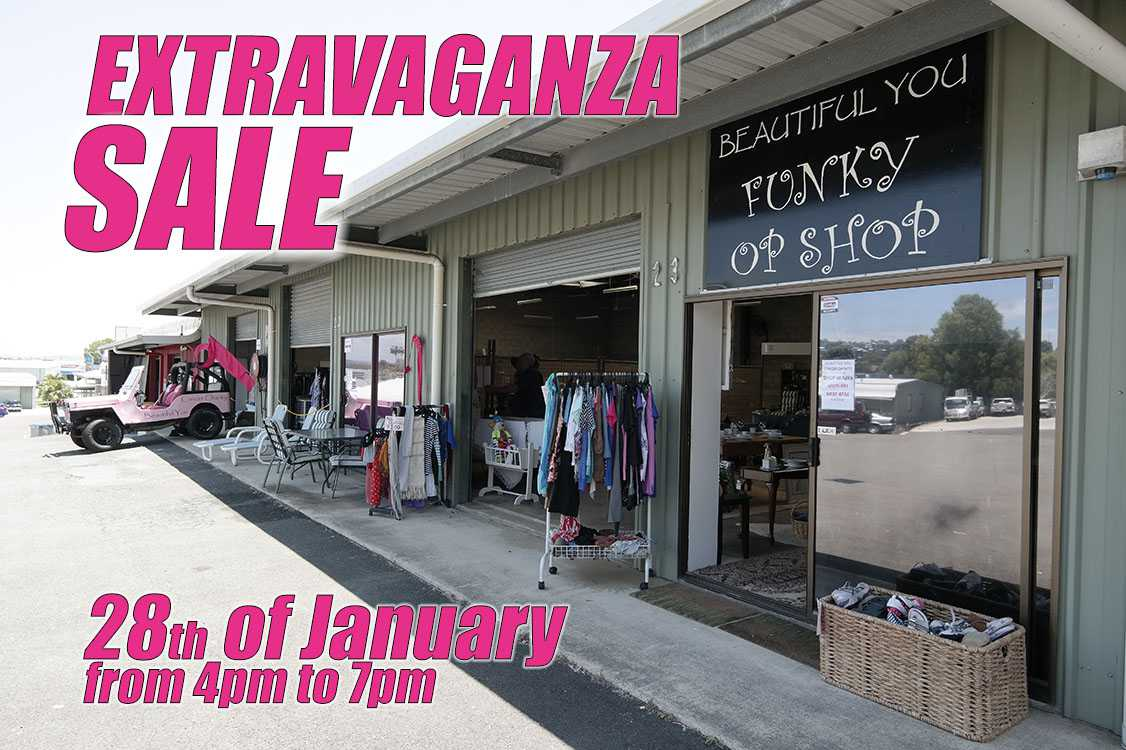 Extravaganza Warehouse Op Shop Sale