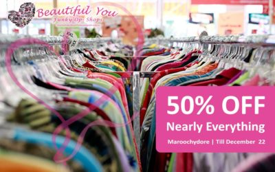 50% off nearly everything @ Maroochydore