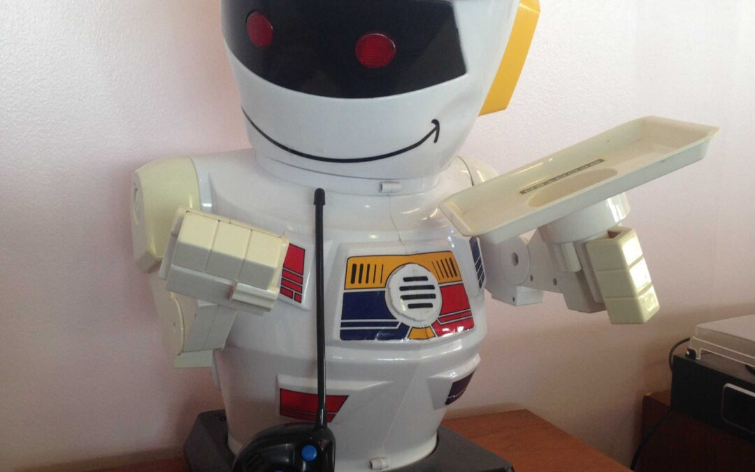 Scooter Robot 1980's